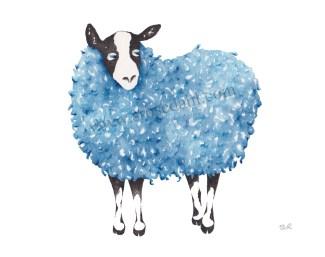 Funky Sheep Blue II URL