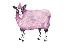 Funky Sheep Purple URL