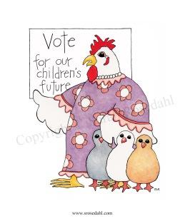 Agnes Vote copyright