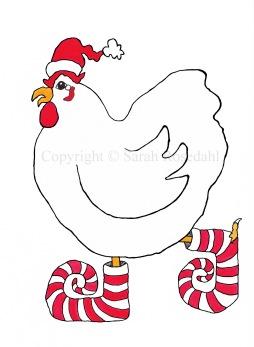 Chicken Elf - Copyright