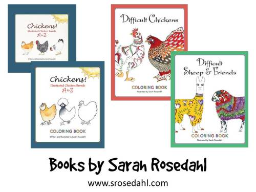 Books by Sarah Rosedahl